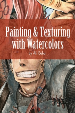 Painting & Texturing with Watercolors